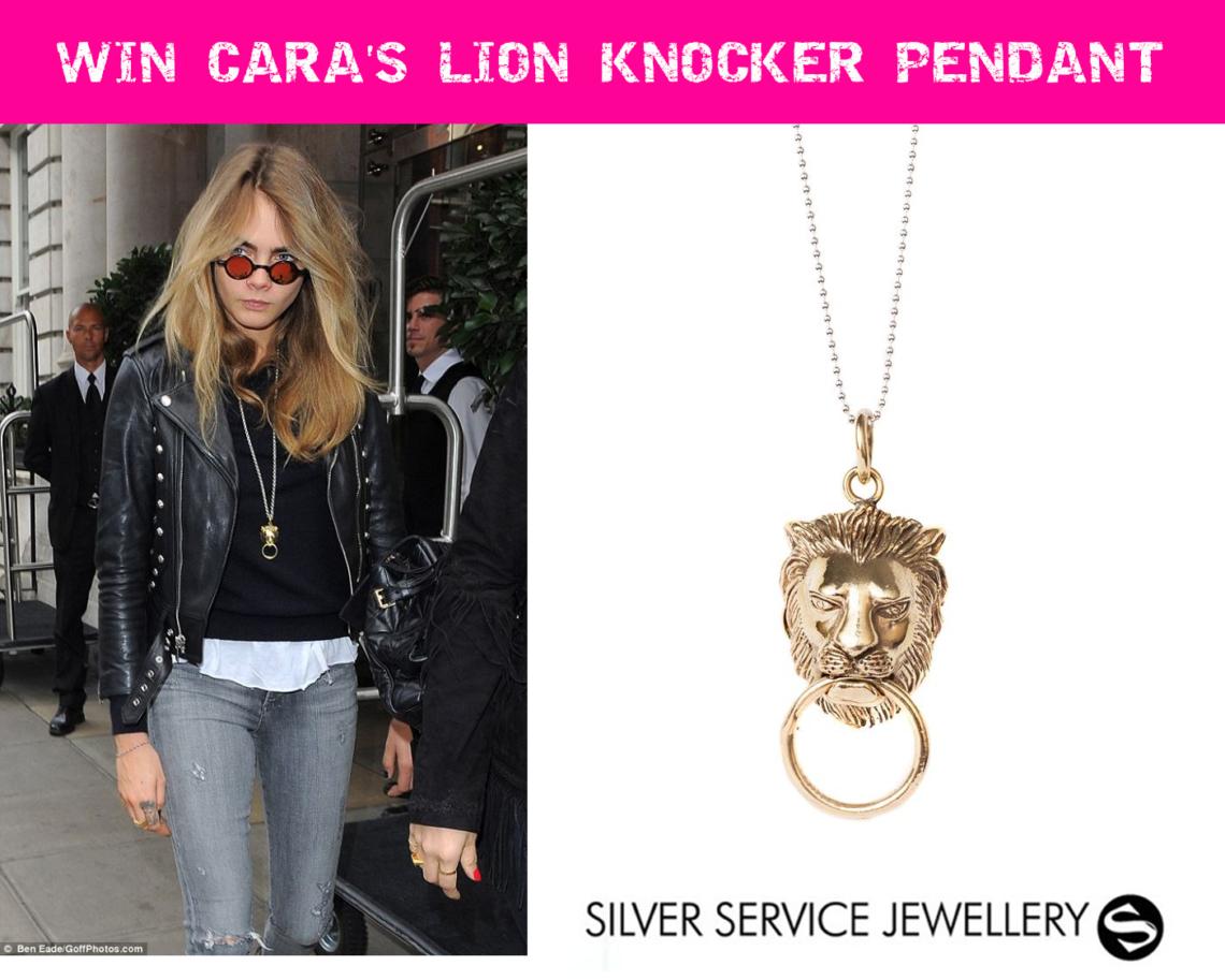 Win Cara's Lion Knocker Pendant