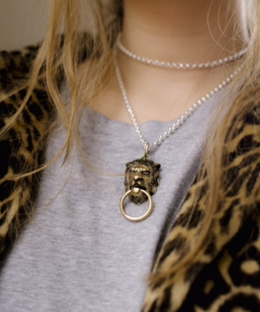 Door Knocker Necklace