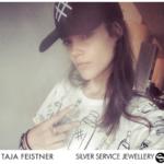 Taja Feistner wears Silver Service