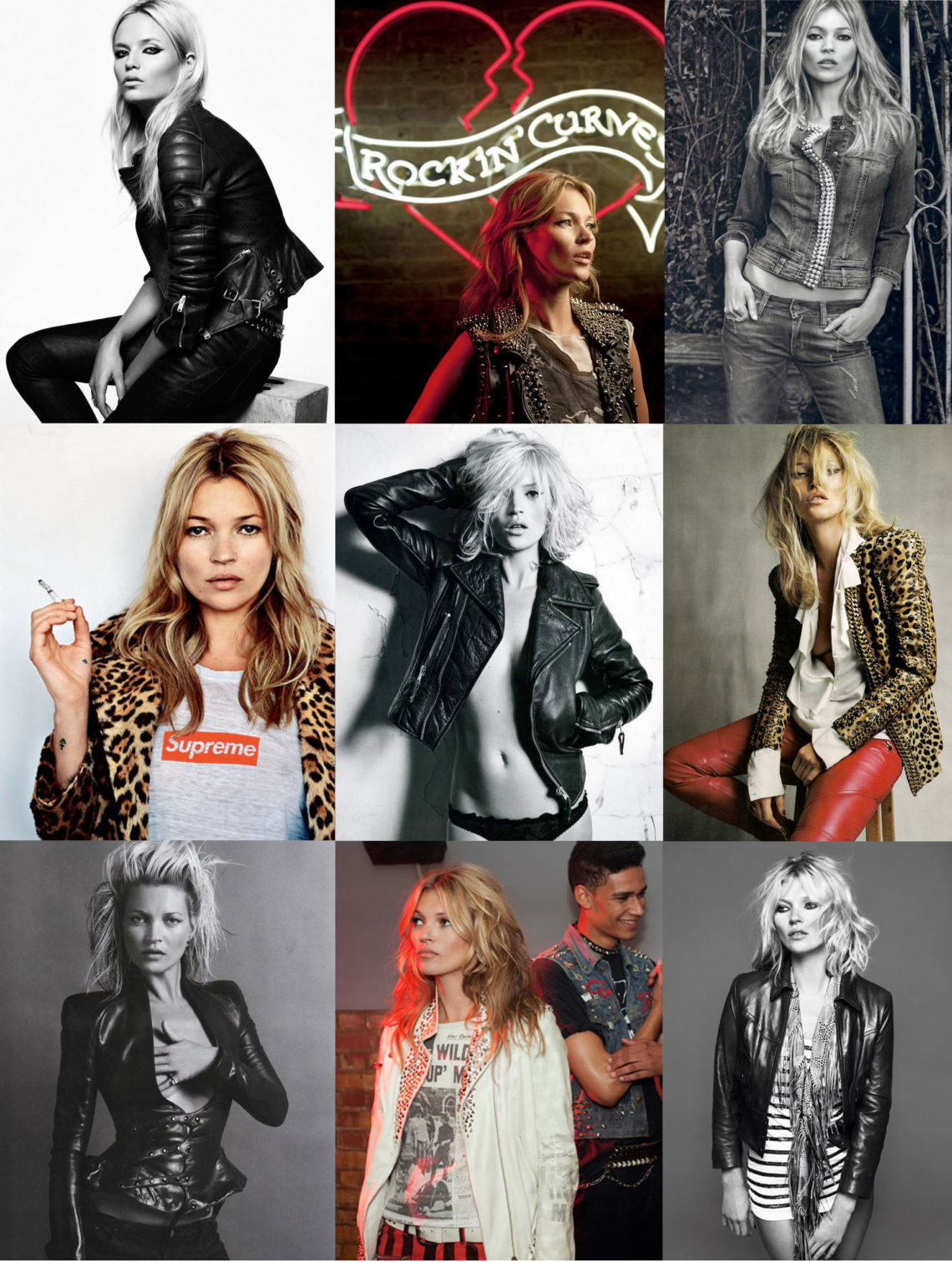 Rock Chick Kate Moss Style