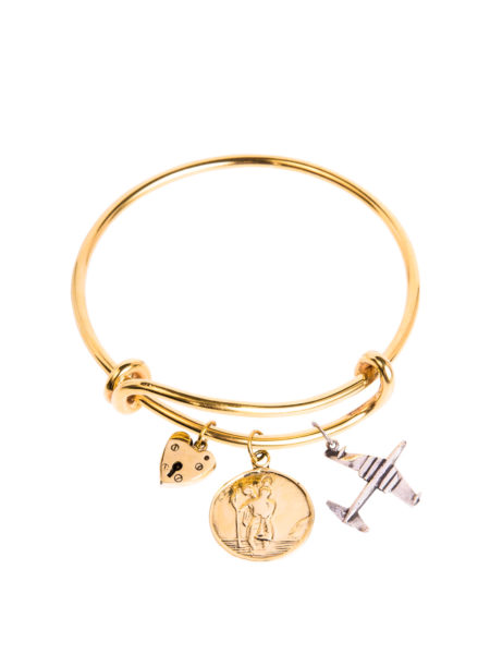 Charm Bangle – Bon Voyage