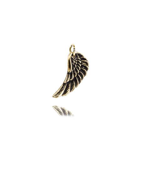 Tiny Silver Wing Charm