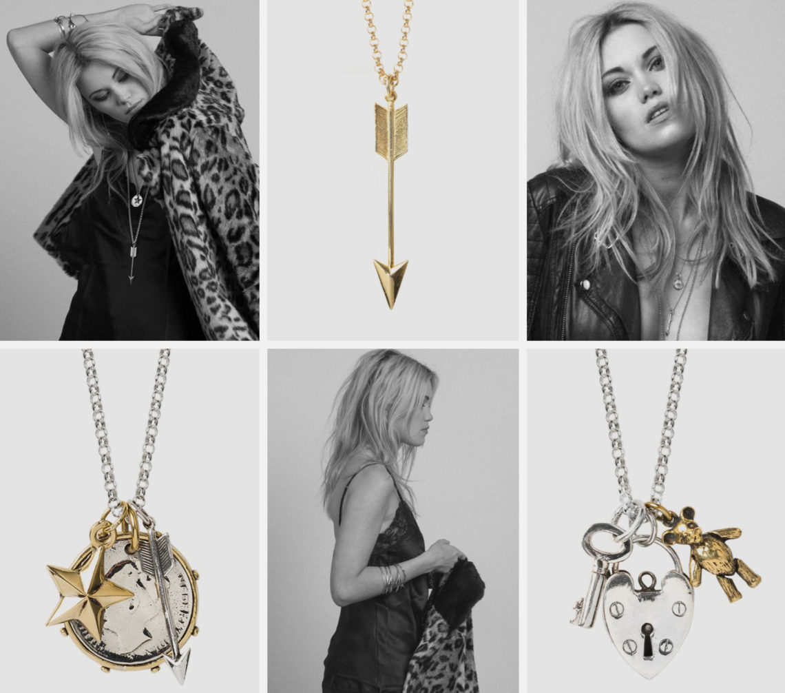 Tilly Sveaas Jewellery collage