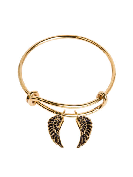Charm Bangle - Wings