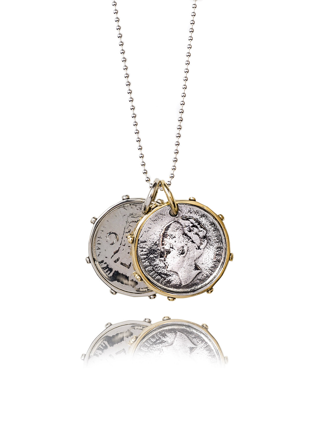 Double Dutch Coin Necklace