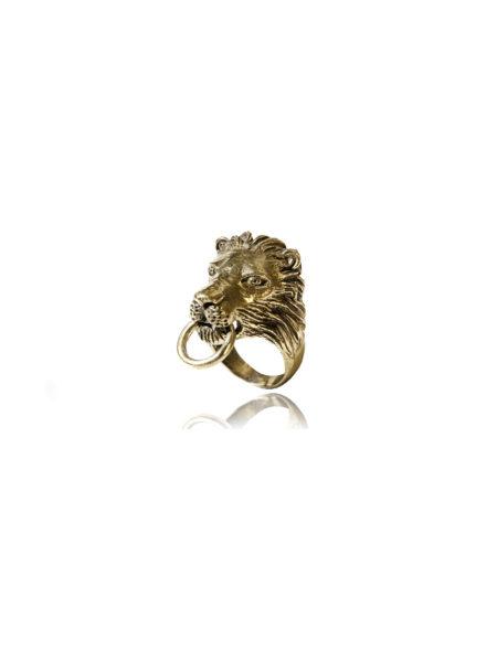 Lion Door Knocker Ring