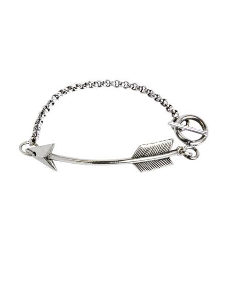 Silver Chain Bracelet - Silver Arrow