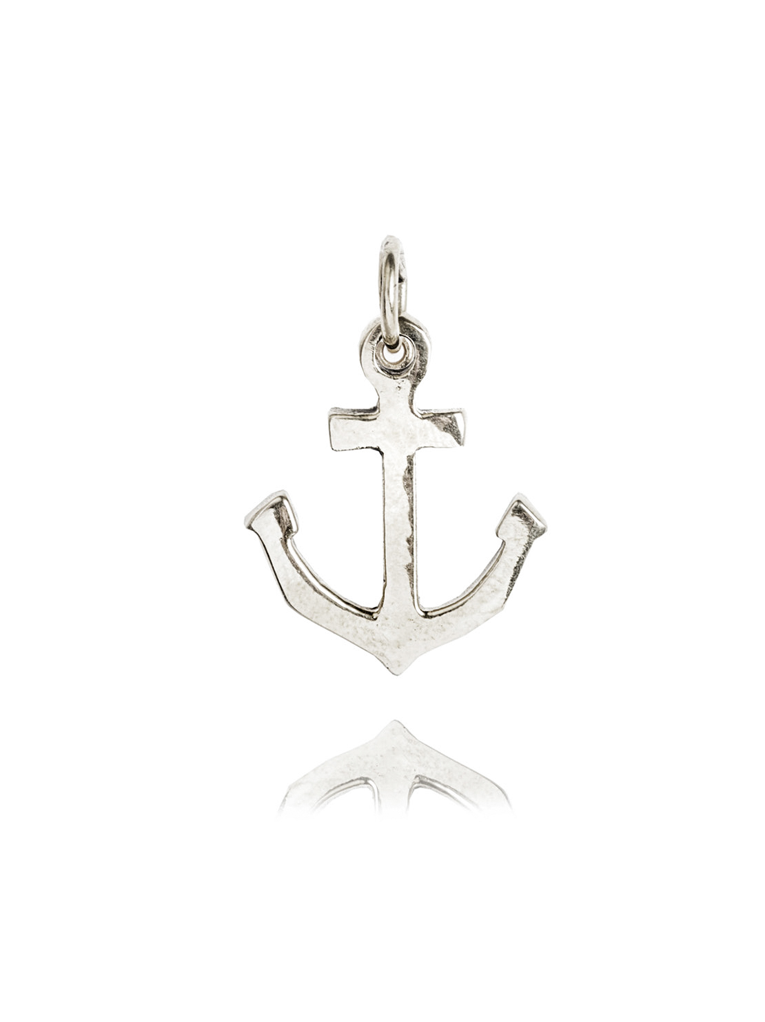 Small Silver Anchor Charm