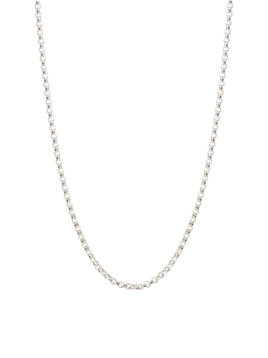 50cm Silver Belcher Chain