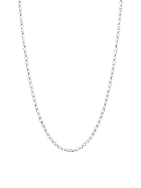 Chunky Silver Belcher Chain