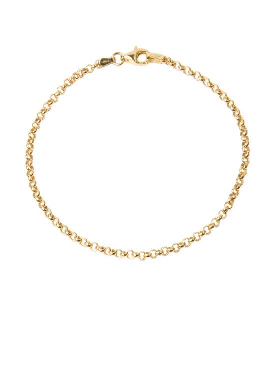 Gold Belcher Chain Bracelet
