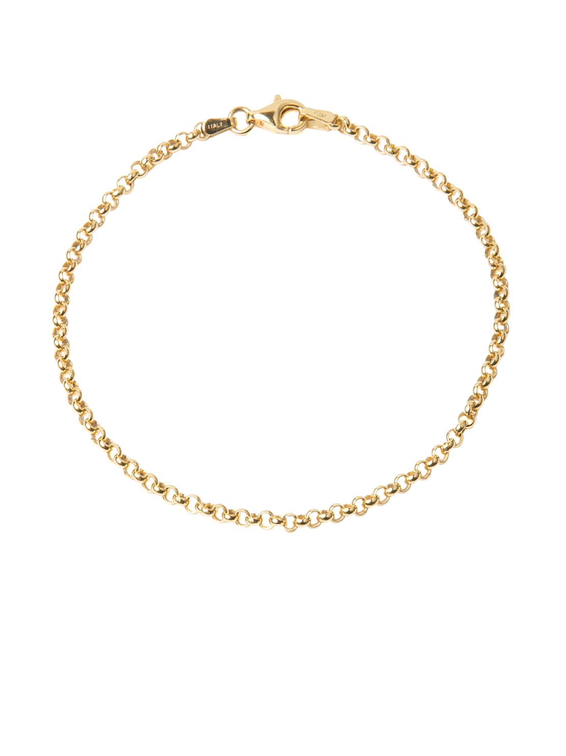 Gold Belcher Chain Bracelet - Tilly Sveaas Jewellery