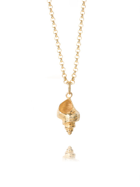 Large Whelk Shell Necklace