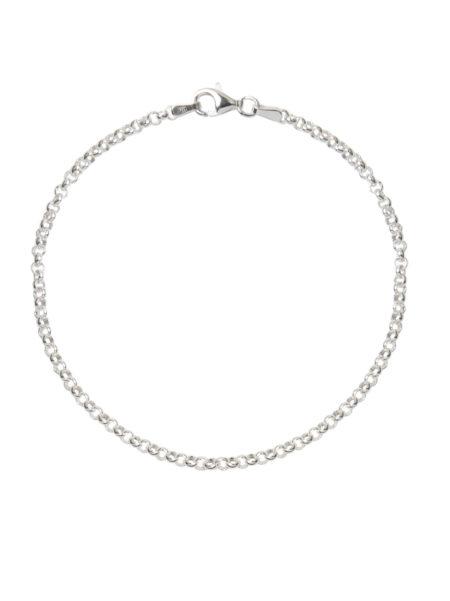 Fine Silver Belcher Bracelet