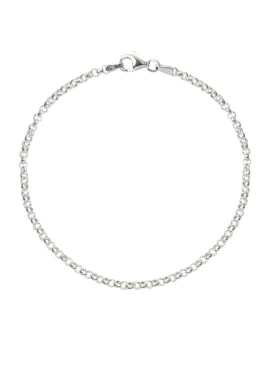 Silver Belcher Chain Bracelet