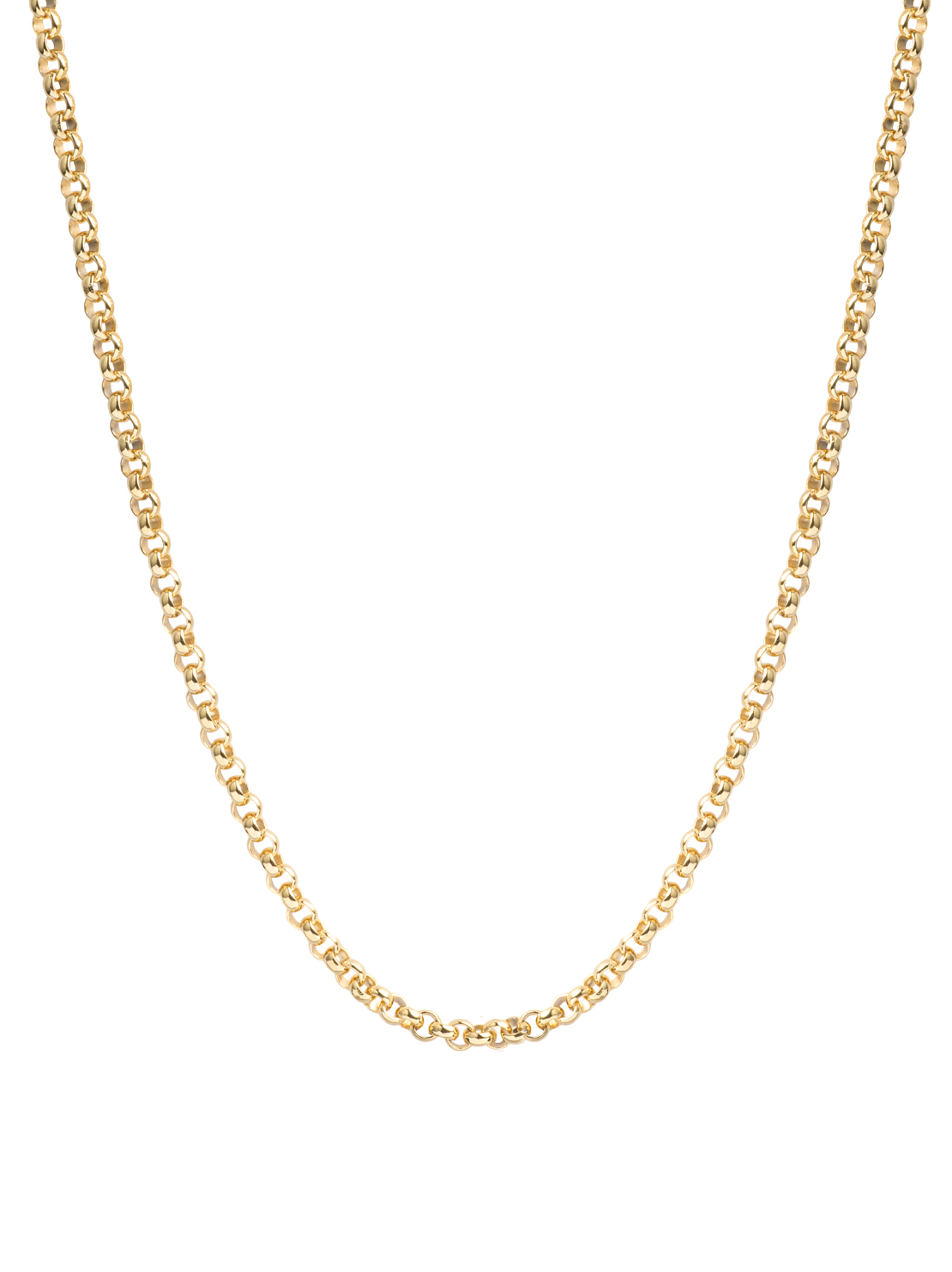 Thick Gold Belcher Chain