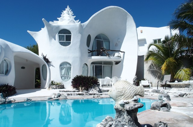 Octavio Ocampo: Sea Shell House