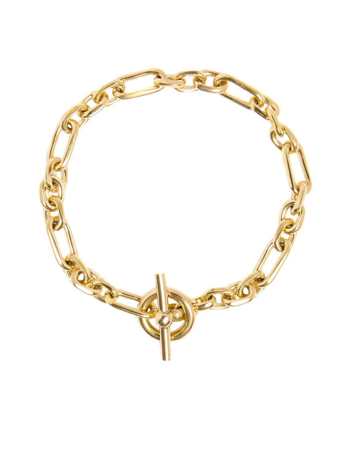 Gold Watch Chain Bracelet - Tilly Sveaas Jewellery