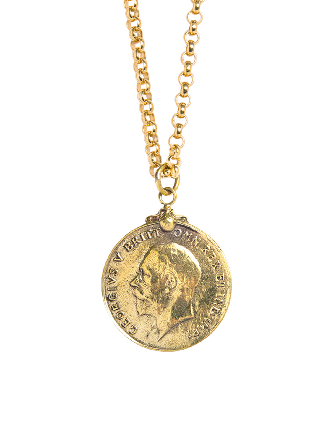 Gold Medal Necklace