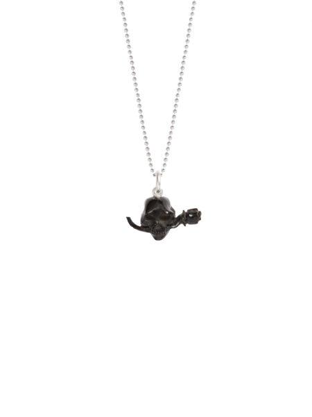 Horn Skull Necklace