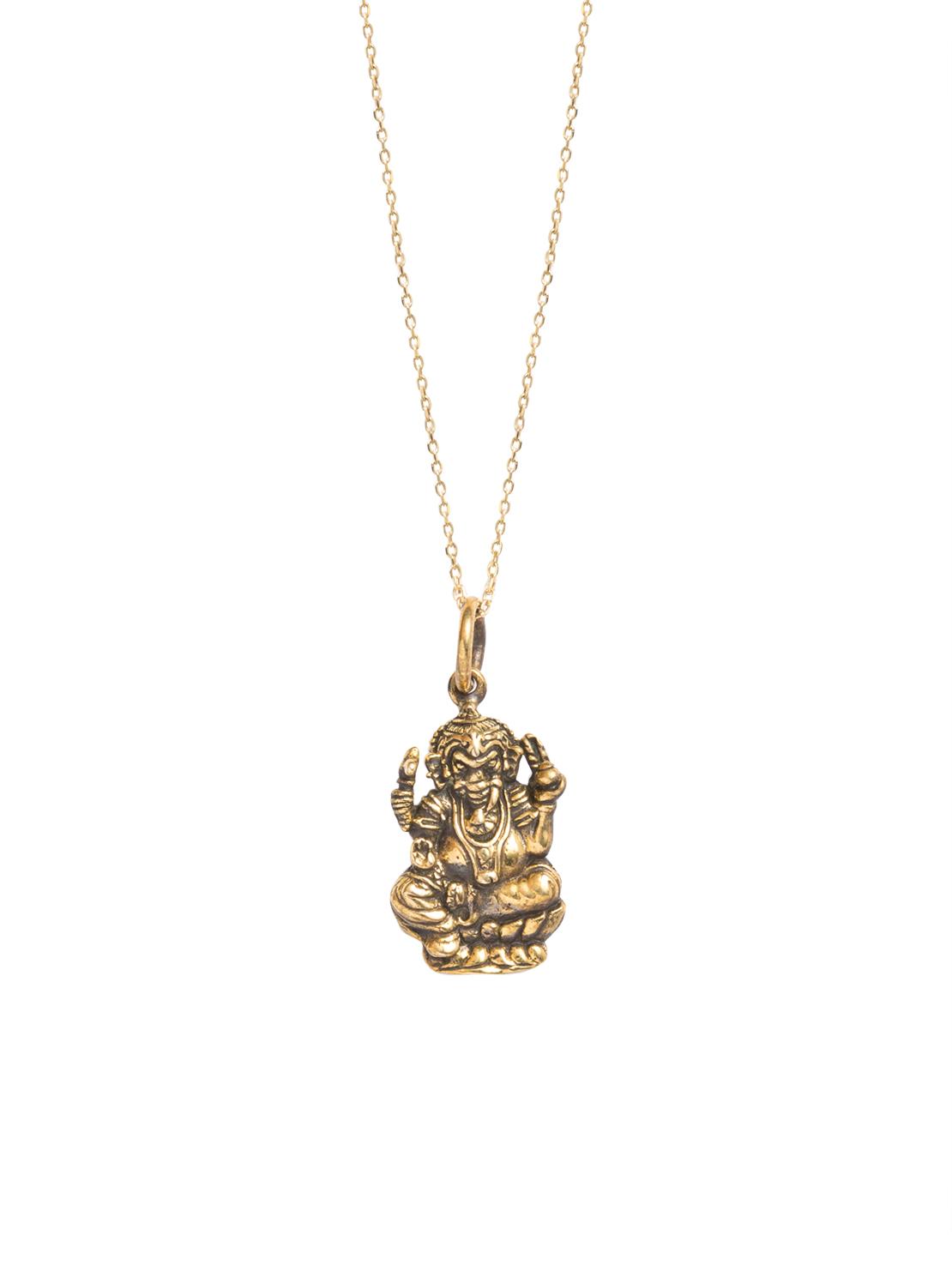 9b31c6faa05 Large Ganesh Necklace - Tilly Sveaas Jewellery
