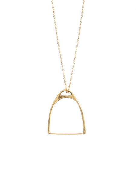 Stirrup Necklace