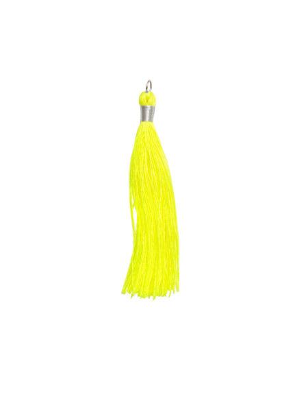 Large Neon Yellow Tassel