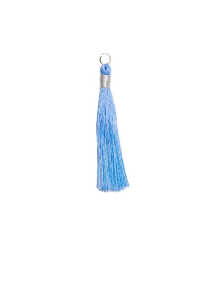 Medium Blue Tassel