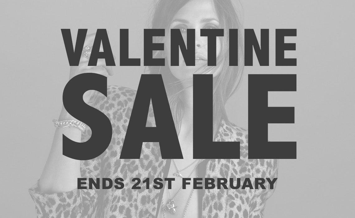 Valentine's Jewellery Sale