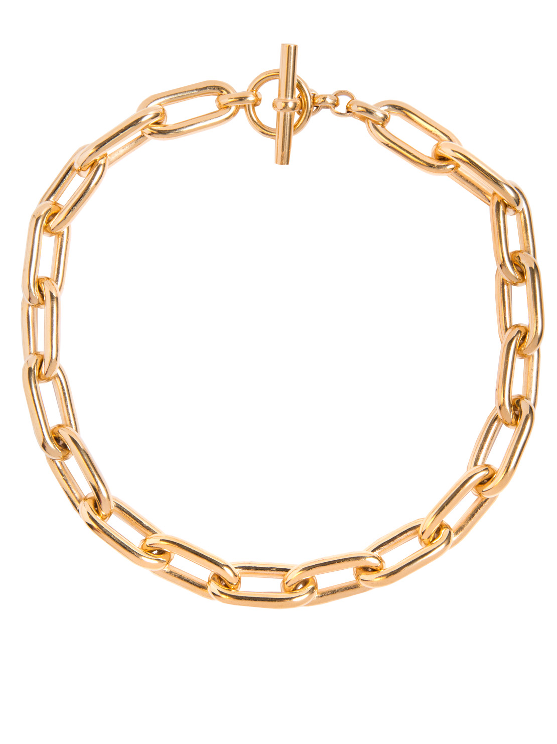 4f067123b26 Large Oval Linked Necklace - Tilly Sveaas Jewellery