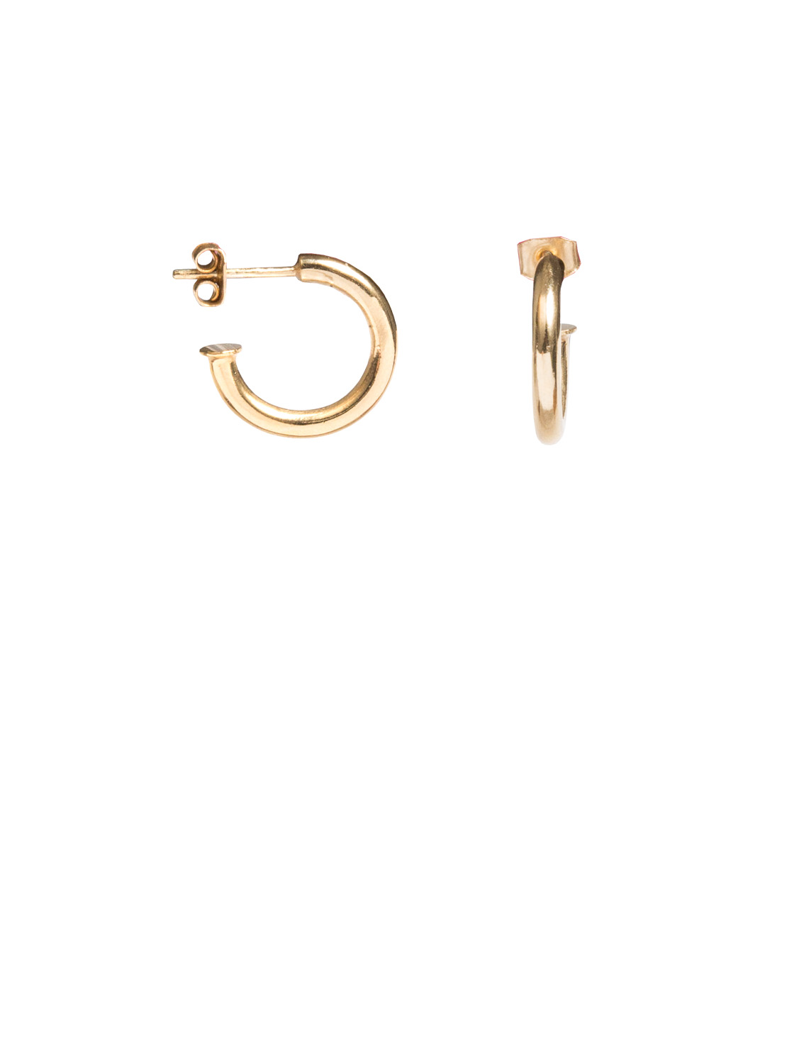 2630f5281 Small Gold Hoop Earrings - Tilly Sveaas Jewellery