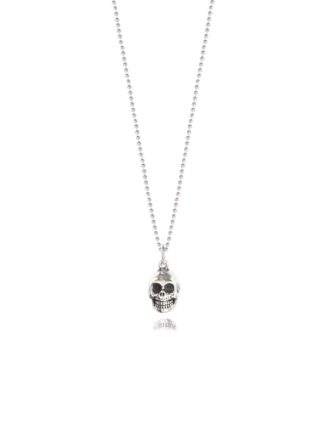 34134ad32d0 Silver Skull Necklace - Tilly Sveaas Jewellery