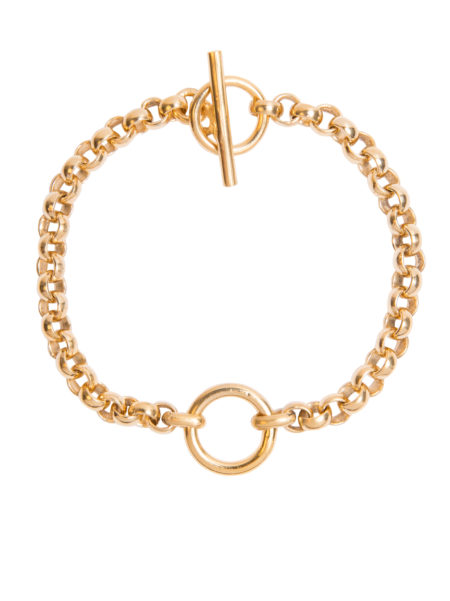 Small Gold Eternity Bracelet