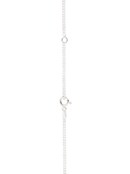 Thin Silver Curb Link Chain