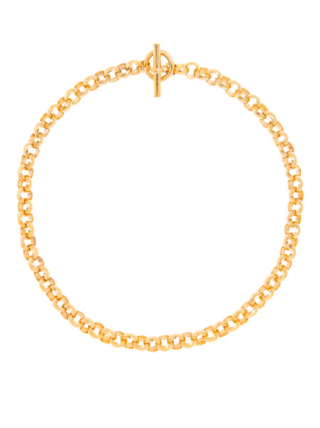 Small Gold Rolo Link Necklace